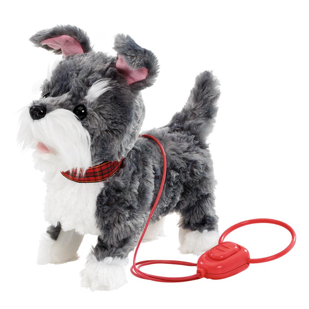 Купить Интерактивные игрушки, роботы, Мягкая игрушка Addo Pitter patter pets Прогулка вместе Щенок терьера на дистанционном управлении (315-11120-B)