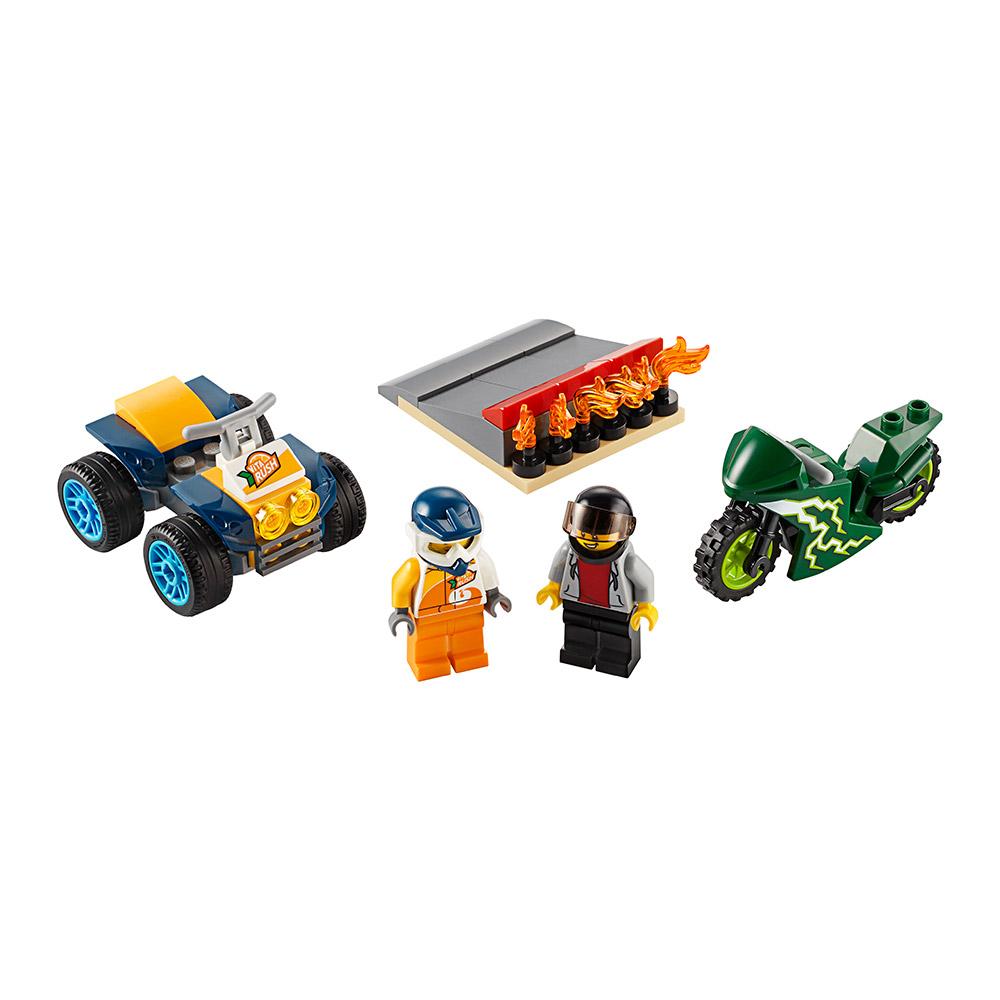 Купить Детские конструкторы, Конструктор LEGO City Команда каскадеров (60255)