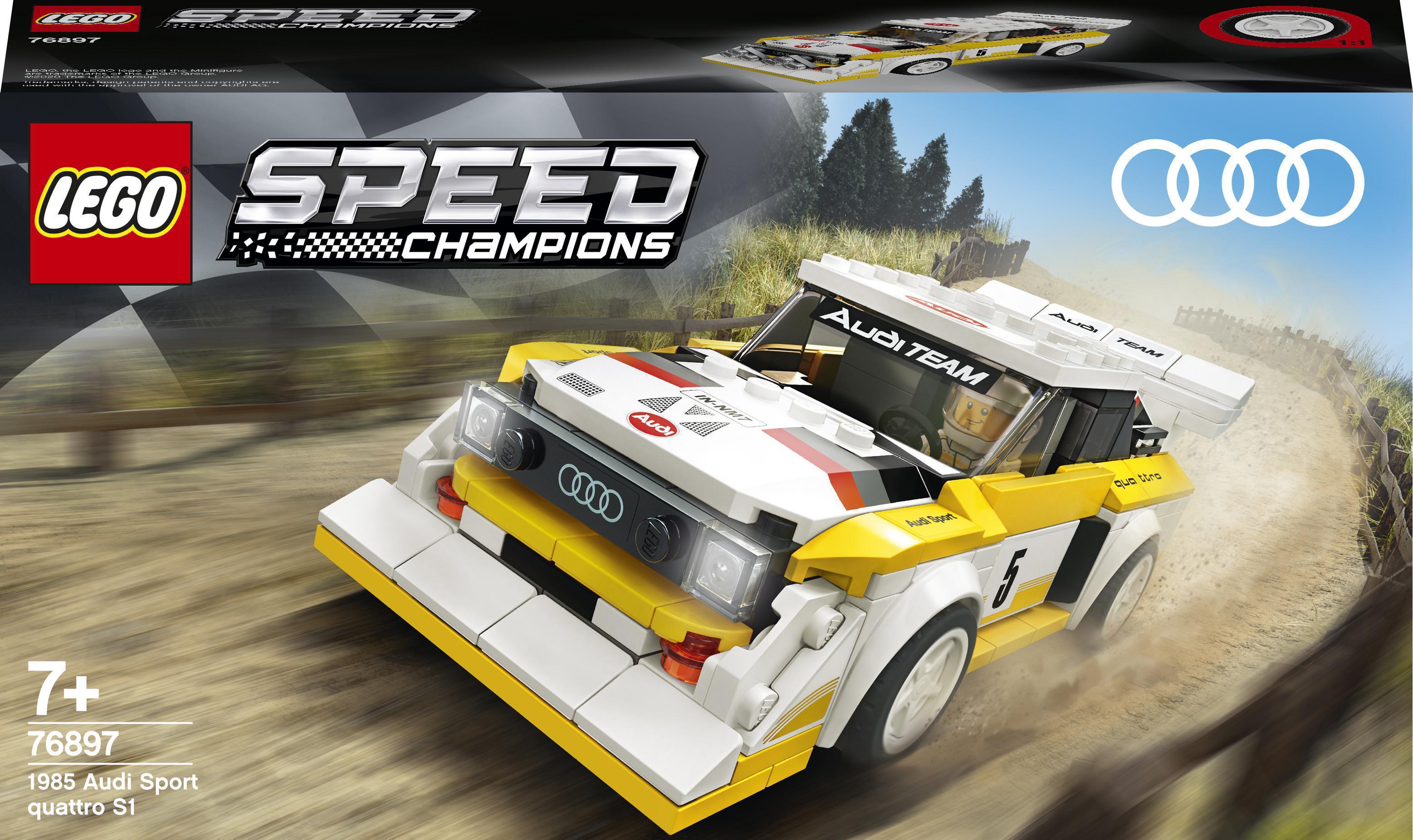Купить Детские конструкторы, Конструктор LEGO Speed Champions Audi Sport quattro S1 1985 (76897)