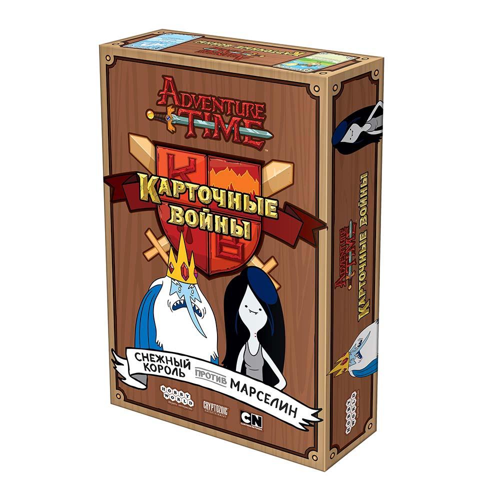 Купить Настольные игры, головоломки, Настольная игра Hobby World Время приключений Карточные войны (915095)