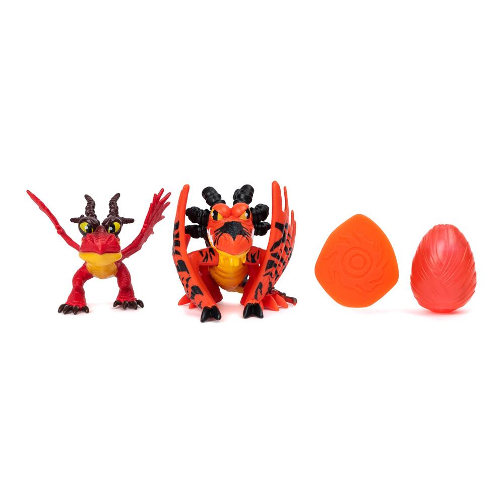 Купить Персонажи мультфильмов, игровые фигурки, Игровой набор Dragons Как приручить дракона 3 Семейство Кривоклыка (SM66634/4681), Spin Master