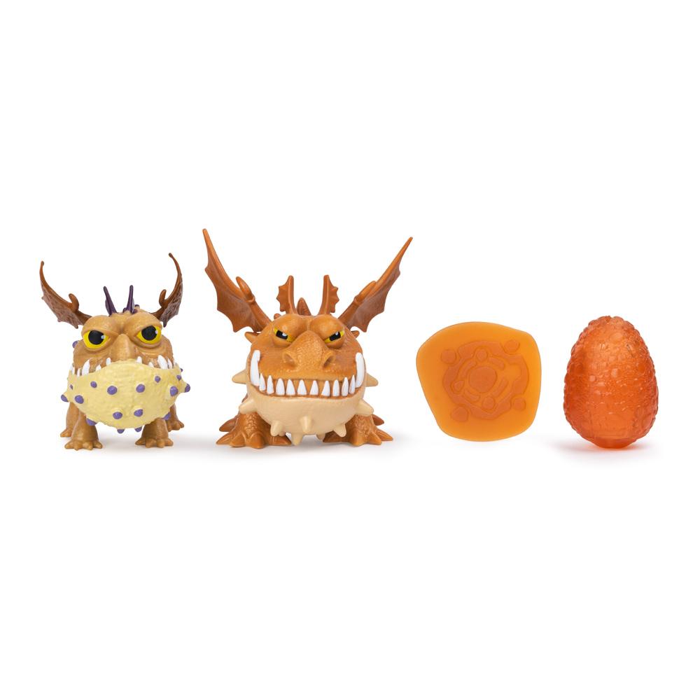 Купить Персонажи мультфильмов, игровые фигурки, Игровой набор Dragons Как приручить дракона 3 Семейство Сардельки (SM66634/5015), Spin Master