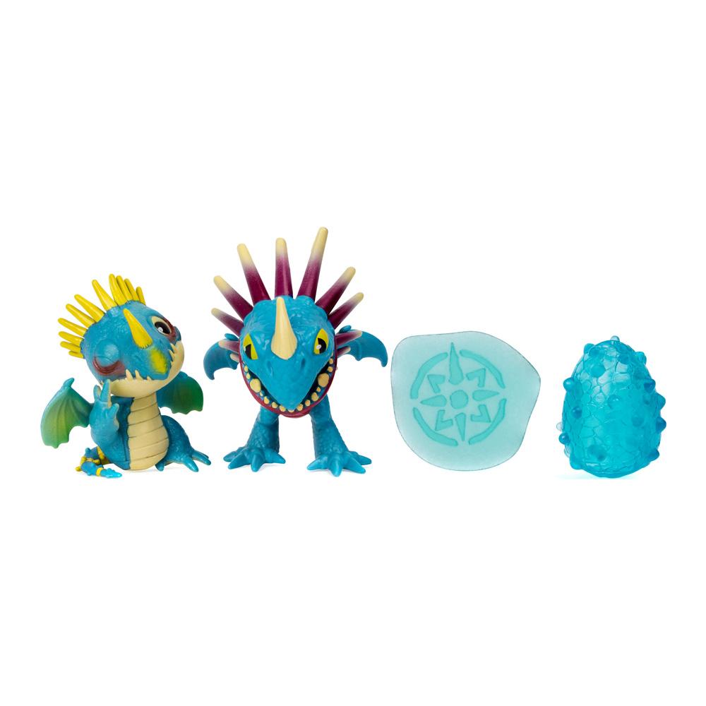 Купить Персонажи мультфильмов, игровые фигурки, Игровой набор Dragons Как приручить дракона 3 Семейство Громгильды (SM66634/6783), Spin Master