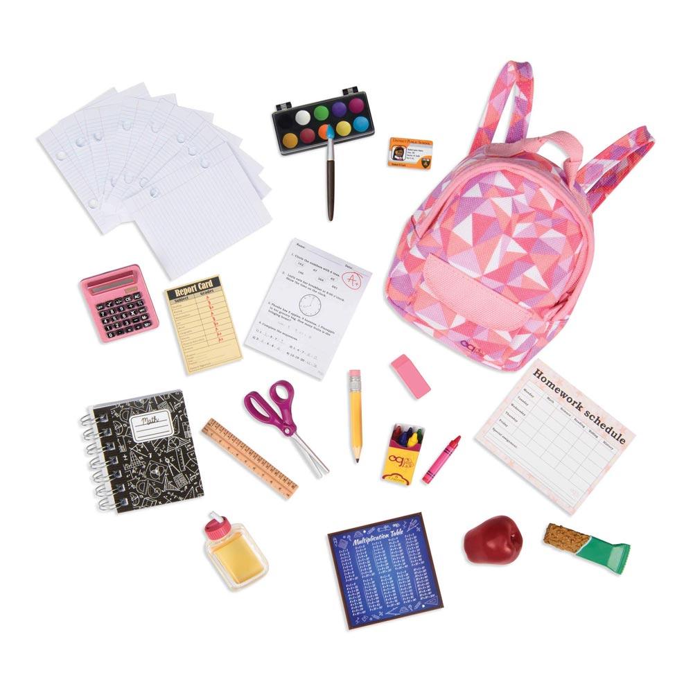 Купить Куклы, наборы для кукол, Набор аксессуаров Our Generation Собираемся в школу (BD37326Z)