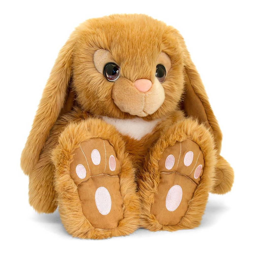 Купить Мягкие игрушки, Мягкая игрушка Keel toys Сидящий кролик коричневый 25 см (SR2518/1)