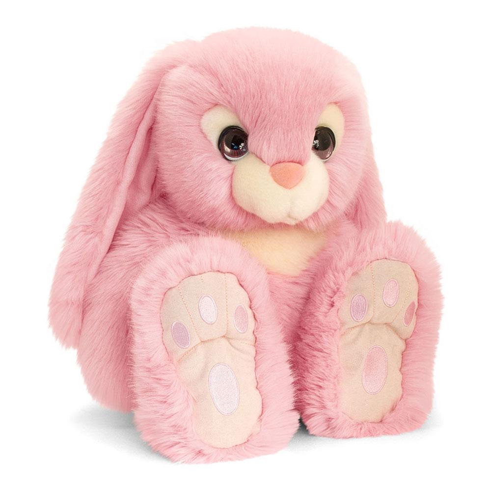 Купить Мягкие игрушки, Мягкая игрушка Keel toys Сидящий кролик розовый 25 см (SR2518/2)