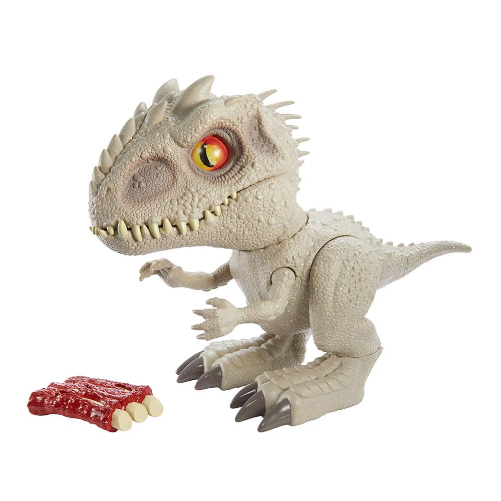 Купить Персонажи мультфильмов, игровые фигурки, Фигурка Jurassic World 2 Детеныш Индоминуса с эффектами (GMT90), Hasbro