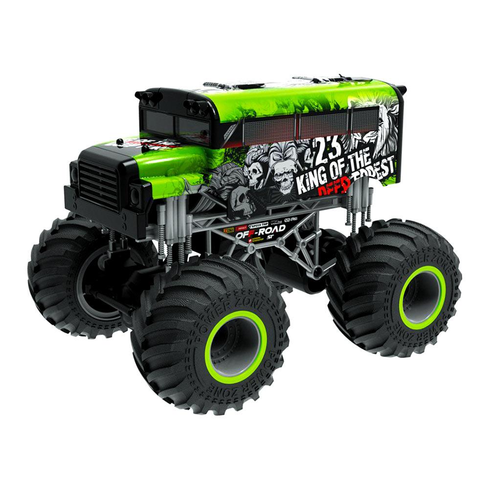 CRAZON / Машинка Crazon Король леса зеленая на радиоуправлении 1:16 (333-19162BG)