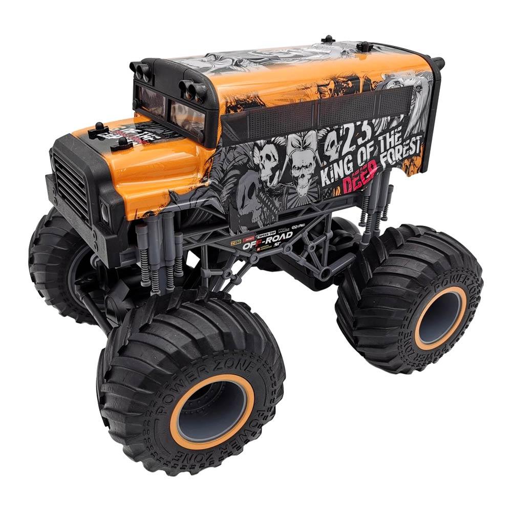 CRAZON / Машинка Crazon Король леса оранжевая на радиоуправлении 1:16 (333-19162BO)