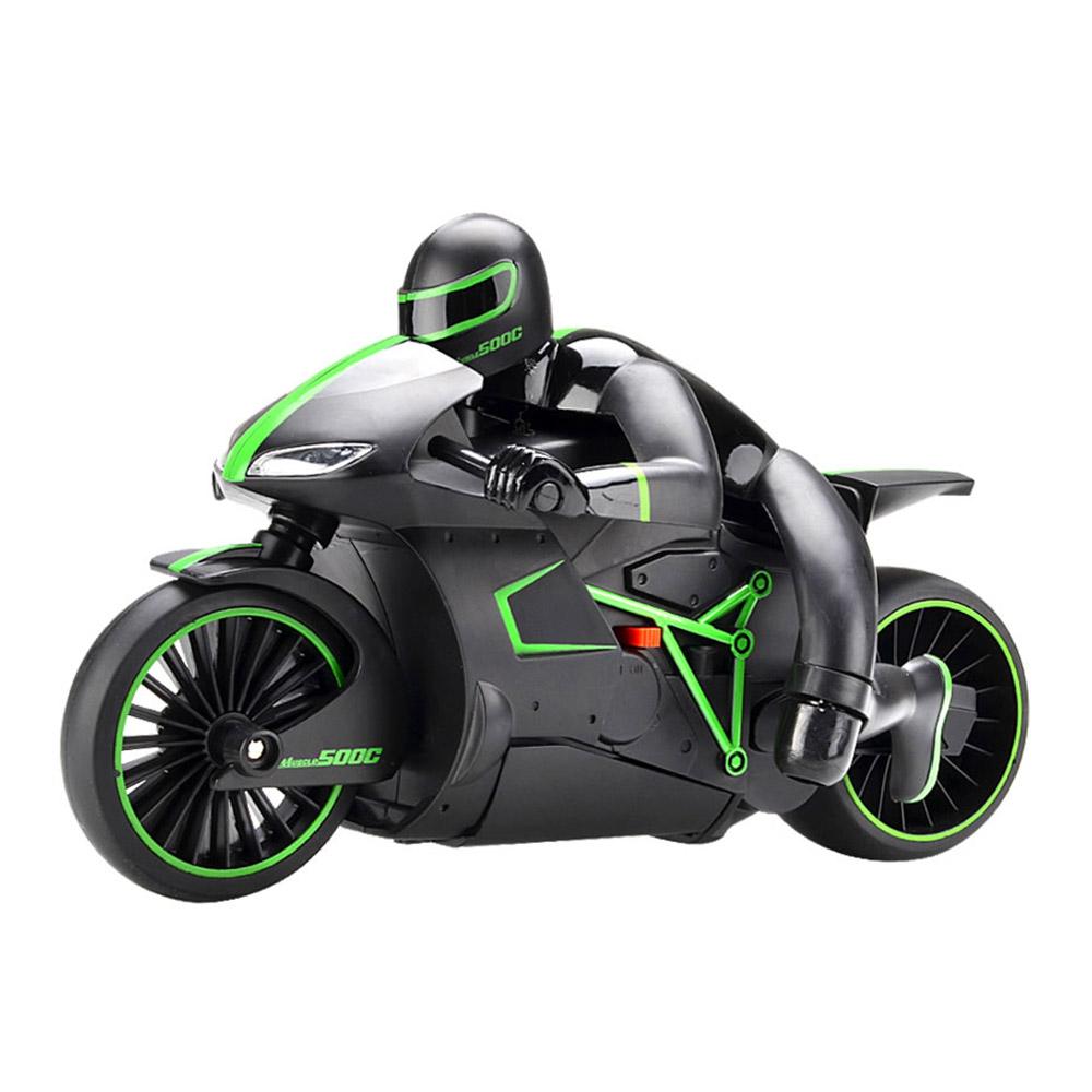 CRAZON / Игрушечный мотоцикл Crazon на радиоуправлении зеленый 1:12 (CZ-333-MT01Bg)