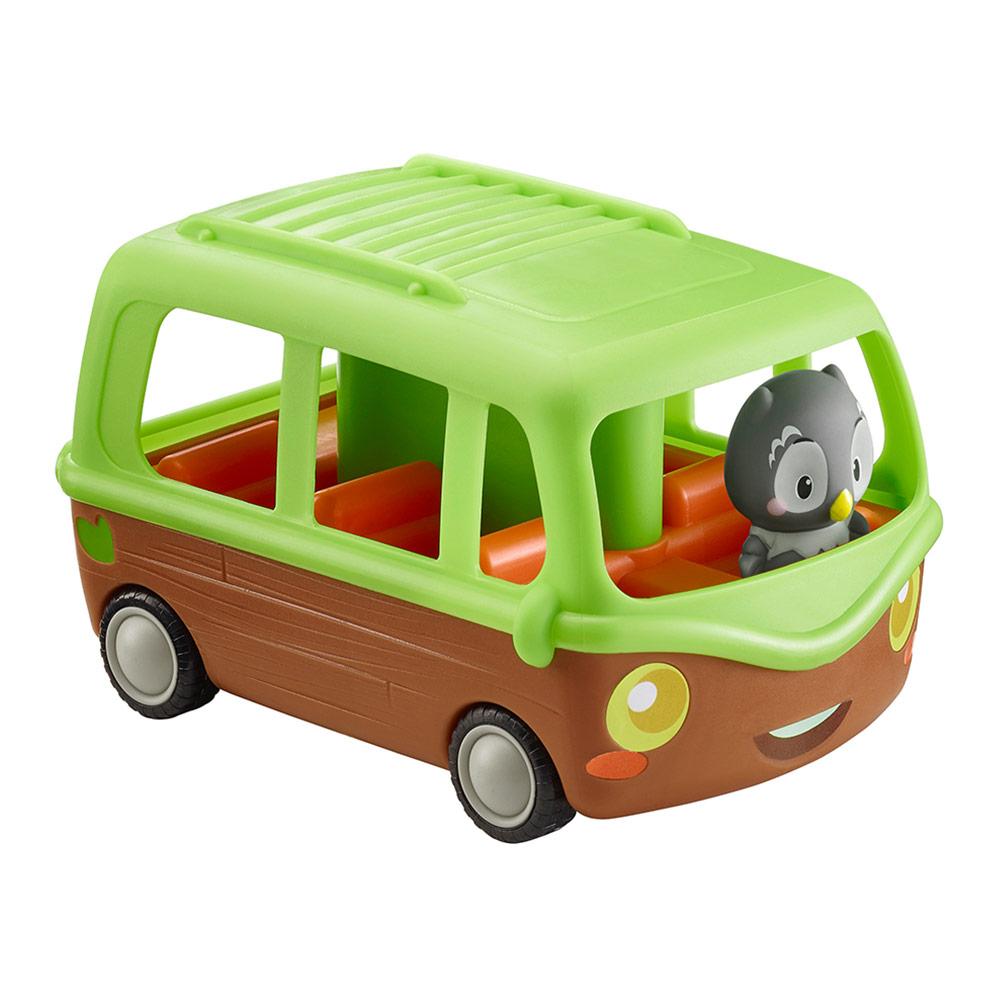 Игровой набор Klorofil Автобус и совенок (700203F)