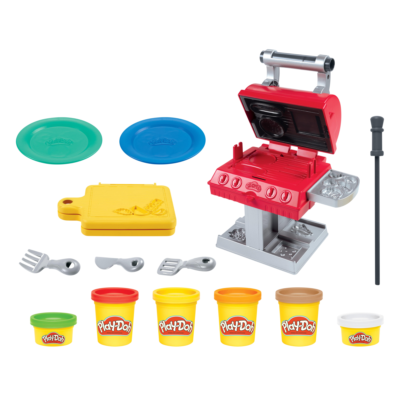 Акция на Набор для лепки Play-Doh Kitchen creations Гриль (F0652) от Будинок іграшок