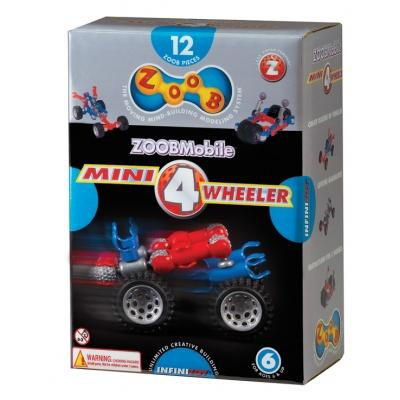 Конструктори з унікальними деталями - Конструктор Mini 4 Wheeler ZOOB (12050)