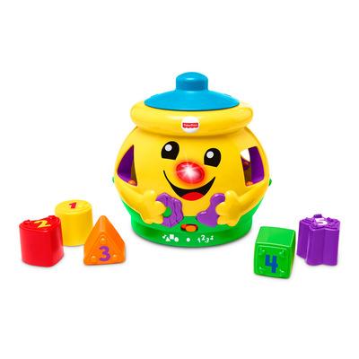 Розвивальні іграшки - Іграшка Музичний горщик на українській мові  Fisher-Price (М4916) 1c65298200bcb