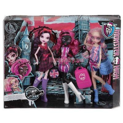 Monster High Набір ляльок Монстрові зірки у Лондумі (CGF51) e33ac19ebd704