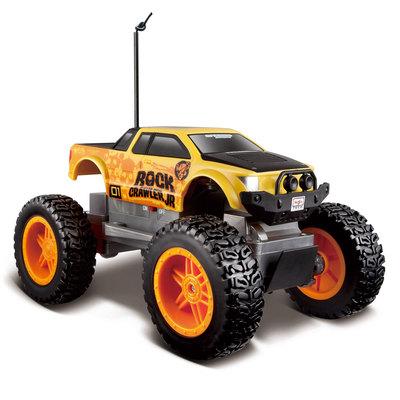 Купить. Радиоуправляемые модели - Автомодель на радиоуправлении Maisto Rock  Crawler Jr (81162 yellow black) 2d8608397bf