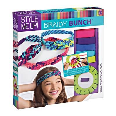 Товары для рисования - Набор для творчества украшений для волос Braidy  Bunch Style Me Up ( 4bc19551a03