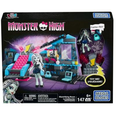 Класичні конструктори - Конструктор Кімната Френкі Mega Bloks Monster High (CNF81)
