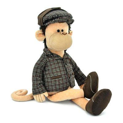 М яка іграшка Orange Мавпа Шерлок в піджаку кепці і туфлях 75 см (5007 45SK) af482663b46c1