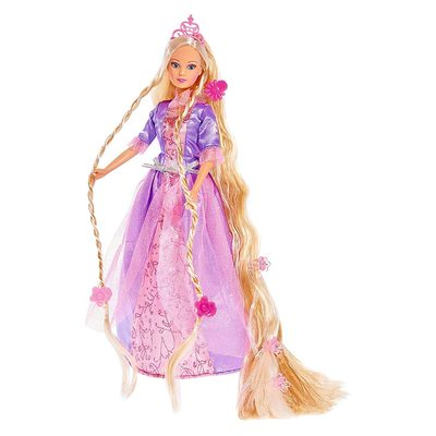 26081bee80b Модельные куклы - Кукла Штеффи Волшебная принцесса Steffi   Evi Love  фиолетовое платье (5738831)
