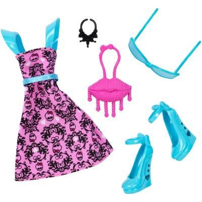 Одяг та аксесуари для ляльок - Набір одягу Monster High Відпадний прикид  для Дракулори (DXW87 055248ef4720e
