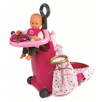 Одяг та аксесуари для пупсів - Аксесуар Baby Nurse Розкладний валізу з  аксесуарами Smoby (220316 abf933ce7c707
