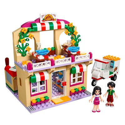 Конструкторы LEGO - Конструктор LEGO Friends Пиццерия Хартлейк Сити (41311)