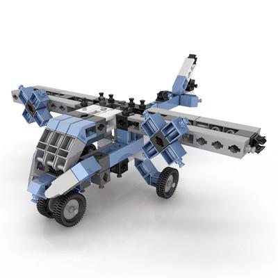 Конструктори з унікальними деталями - Конструктор Engino Inventor Літаки 12  в 1 (1233) b5d8cde335bcc