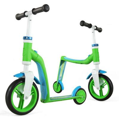 Самокати - Самокат Highwaybaby Scoot & Ride Зелено-Синій (SR-216271-GREEN-BLUE)