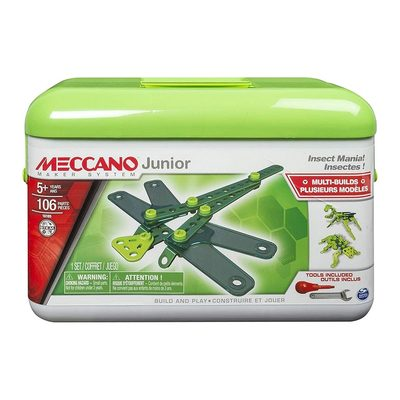 Класичні конструктори - Конструктор Insect Meccano Junior 106 деталей (6027021/1)