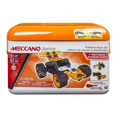 Класичні конструктори - Конструктор Race Car Meccano Junior 61 деталь (6027021/2)