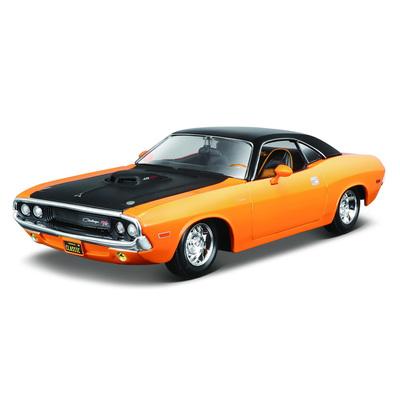 Колекційні автомоделі - Машинка іграшкова Dodge Challenger R   T Maisto  помаранчева (32518 orange) fe0598b228c35