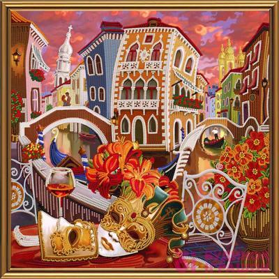 Набори для рукоділля - Набір для вишивки бісером Венеція Nova Sloboda  Задзеркаллі (ДК1080) c5a10eba15787