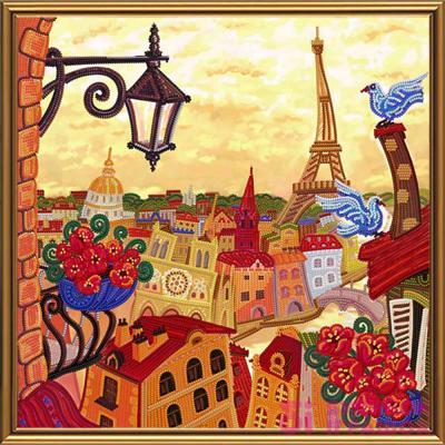 Набори для рукоділля - Набір для вишивки бісером Париж Nova Sloboda  Задзеркаллі (ДК1081) 3a6acb7211d74
