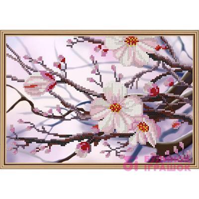 Набори для рукоділля - Набір для вишивання бісером Яблуневий цвіт Набори  Nova Sloboda (НД4088) 855147ff615ea