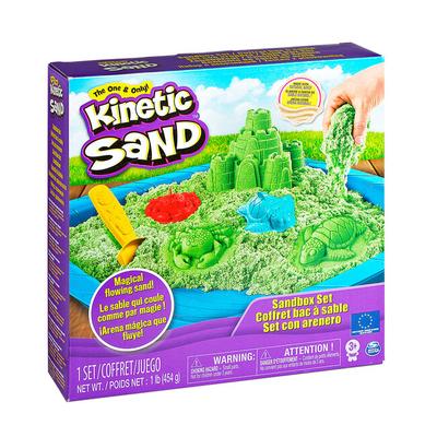 Набор кинетического песка Kinetic Sand Замок из песка зеленый