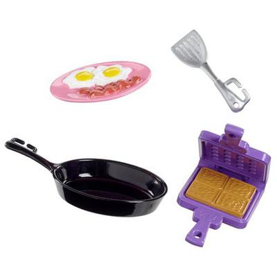 Одяг та аксесуари для ляльок - Кулінарні аксесуари Barbie Сніданок Барбі  (FHP69 FHP70) d4e4bad32e112