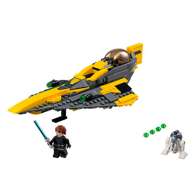 Конструкторы LEGO - Конструктор LEGO Star Wars Anakin's Jedi Starfighter (75214)
