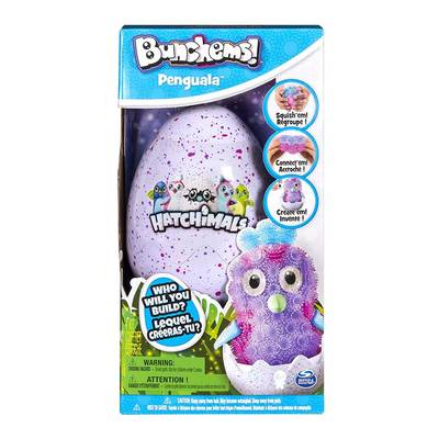 Конструктори з унікальними деталями - Конструктор Bunchems Hatchimals у яйці (6041479)