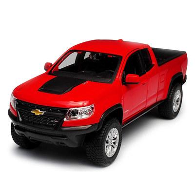 Колекційні автомоделі - Машинка іграшкова Maisto Chevrolet Colorado ZR2  1 27 червона (31517. 9b9dfa3fe1695