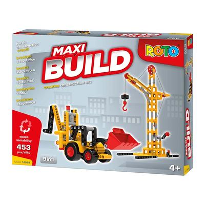 Конструктори з унікальними деталями - Конструктор Roto Maxi Build 453 pcs (14064)