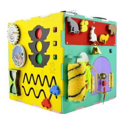 Розвивальні іграшки - Міні-ігровий комплекс Bona Mente Бізікуб  (4823720032214) 2f64ab32ea17b