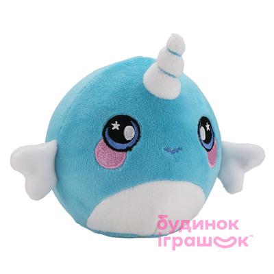 db66343882ca Купить. Мягкие животные - Ароматная мягкая игрушка Squeezamals S2  Интересный нарвал (SQS00712Nb)