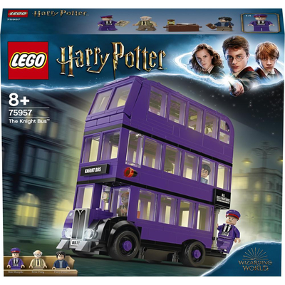 Конструкторы LEGO - Конструктор LEGO Harry Potter Автобус Ночной рыцарь (75957)