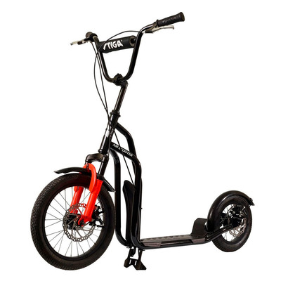 Самокаты - Самокат Stiga Air Scooter 16 SA kick черный (80-7385-01)