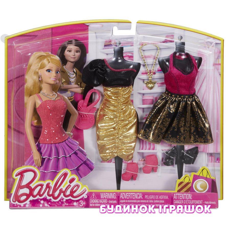 09f0b0218 Аксессуары для куклы Набор одежды Barbie Вечерний наряд в ассортименте  (CBX05)