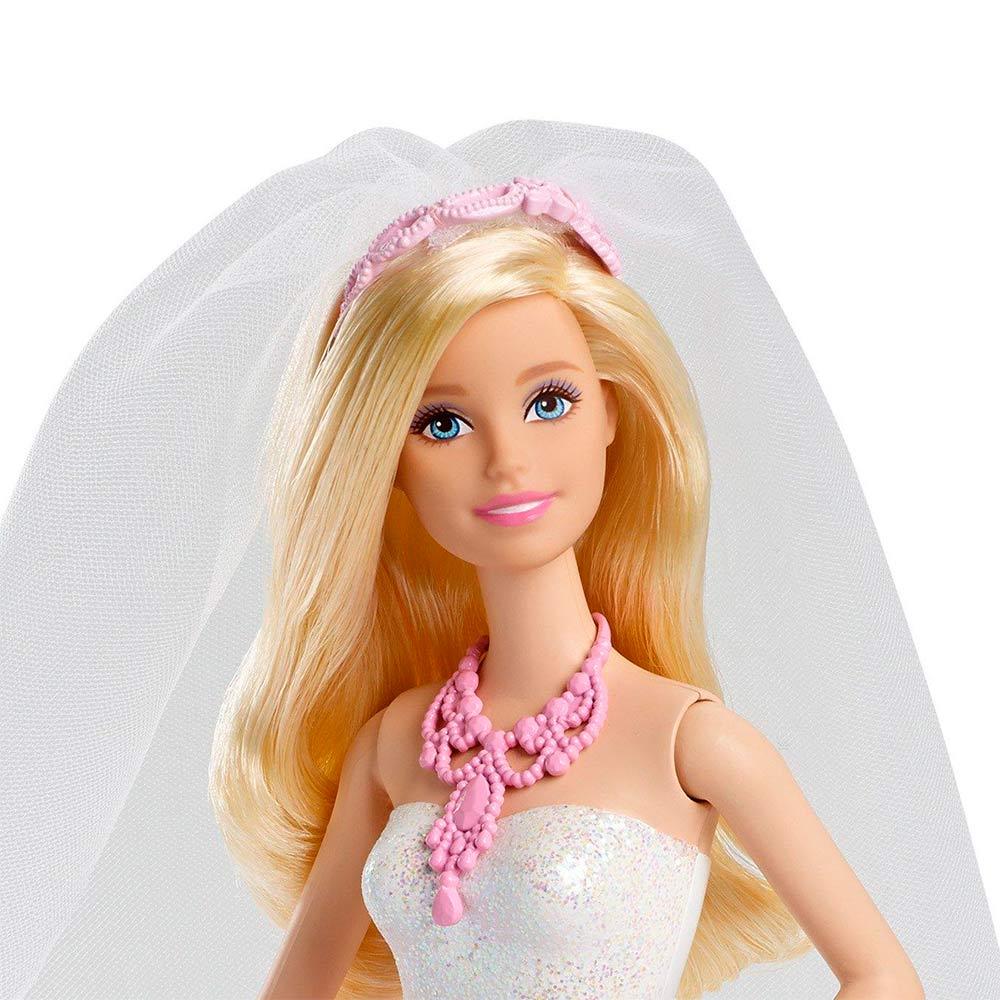 0f19be52971 ... Модельные куклы - Кукла Королевская невеста в розовом платье с узором  Barbie (CFF37)  ...