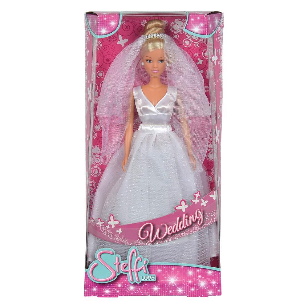 83e62b3368d ... Модельные куклы - Кукла Штеффи в свадебном платье Simba классическое  платье (5733414) 2