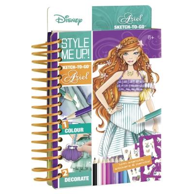 ... Товары для рисования - Набор для творчества Альбом для творчества Мода  с Ариэль Wooky Style Me ... e26bdf258b0
