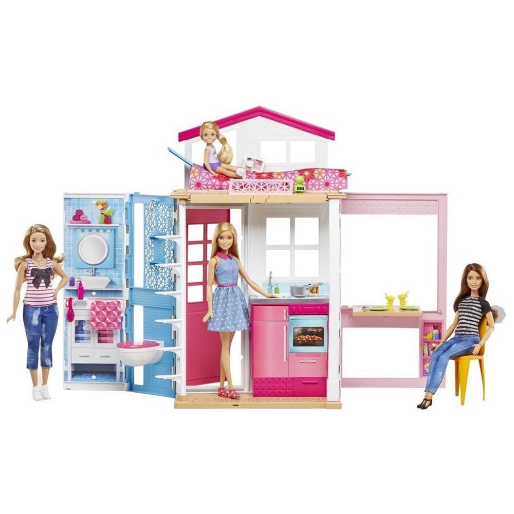 Меблі й будиночки для ляльок